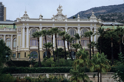 Other side of Monte Carlo casino