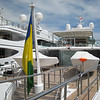 "ENIGMA (244' formerly owned by Larry Ellison, who called her KATANA). The flag is St. Vincent a Caribbean Island which has joined Grand Cayman as a ""registry of convenience"" for tax purposes"