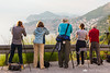 Our merry group shooting Dubrovnik in the late afternoon