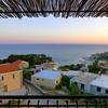 View from apartment in Ulcinj, Montenegro