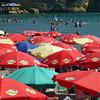 Beach in Ulcinj, Montenegro
