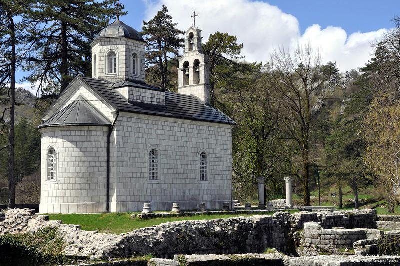 Church in Cetinje, Montenegro