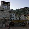 Plaza in Kotor