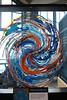 Recycled art at Monterey Aquarium