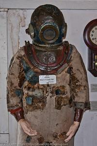 Argentine diving suit