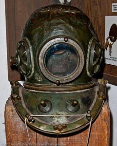 Japanese diver's helmet