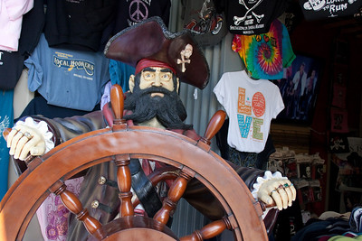 Never fear, pirate captain is at the helm of this shop.