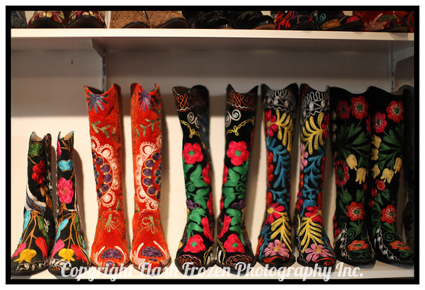 Handmade Boots from Istanbul - in Carmel