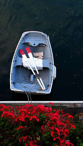 Rowboat, liked the color contrast.