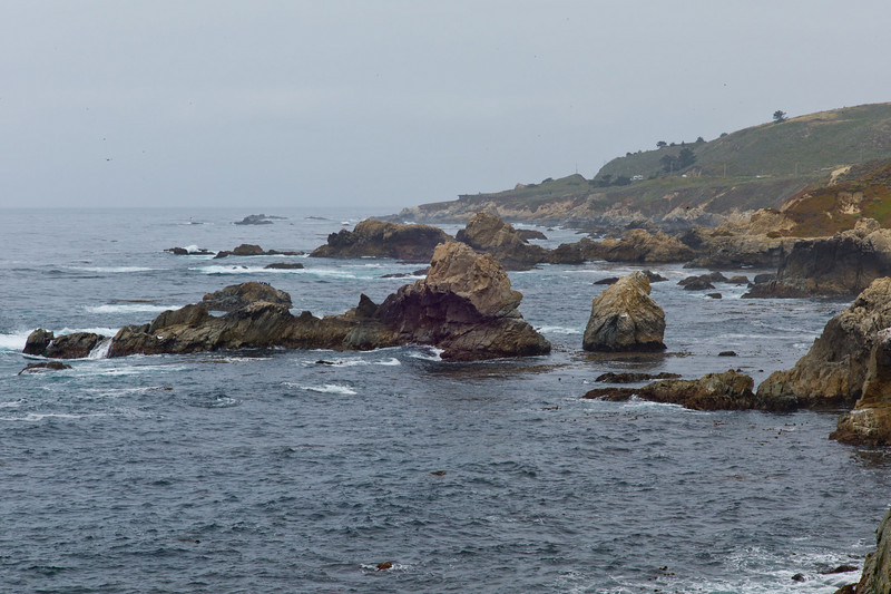 Big Sur Coast - Another look at the rugged coastline.