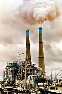 Moss Landing cement factory.