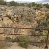 Approaching Montezuma Well