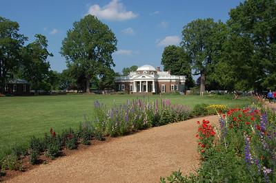 Monticello's gardens