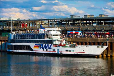 Quai de départ des Croisiàeres AML-Vieux-Montréal