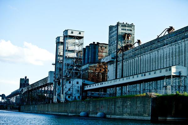 Les Silos à grains du Vieux ports de Montréal