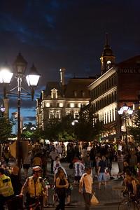 Place Jacque-Cartier -vieux-Montréal
