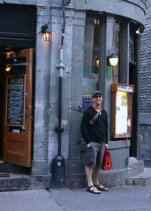 Geof in Old Montreal