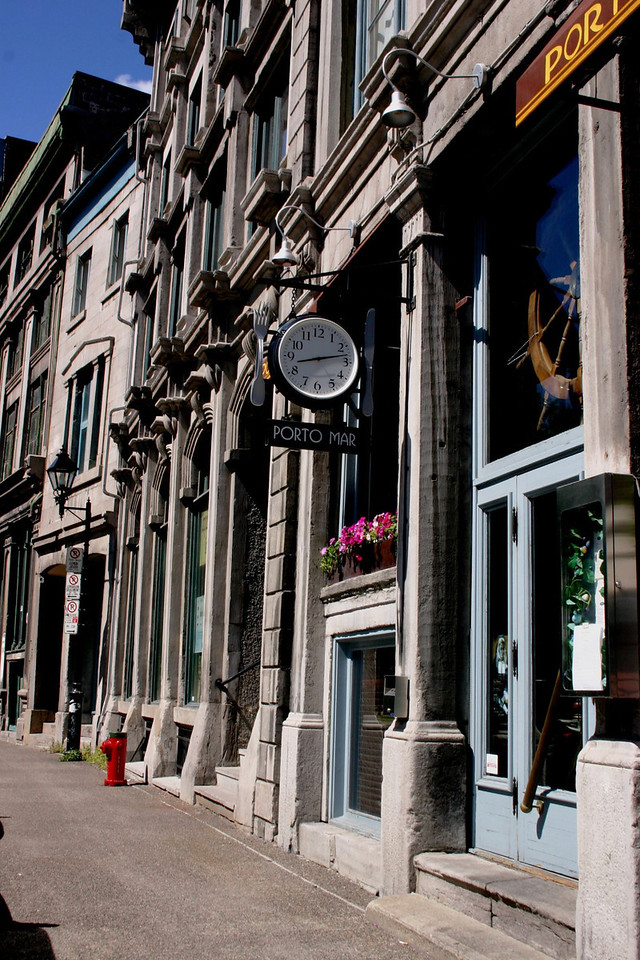 Porto Mar in Old Montreal