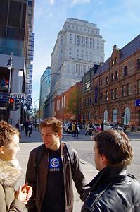 La rue Sainte-Catherine est la plus importante rue commerciale de Montréal. Il s'agit de la plus importante concentration de magasins au Canada et du plus important regroupement de boutiques de mode et de prêt-à-porter au pays. Elle s'étend sur plus de 10 km et compte près de 1 200 magasins dont environ 450 avec façade sur rue.