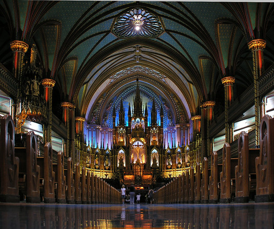 Montreal and Quebec City, Quebec, Canada