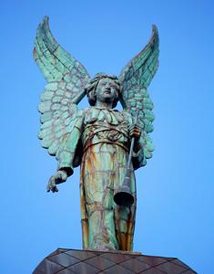 Angel figure on Sailor's Church