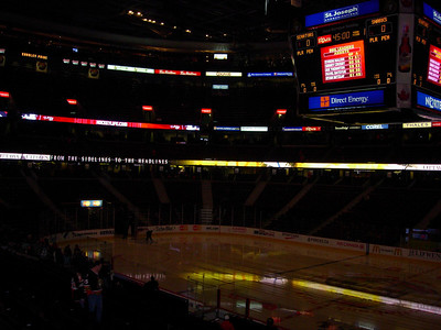 Scotiabank Place. Home of the Ottawa Senators. First game on my two game road trip to watch the San Jose Sharks.