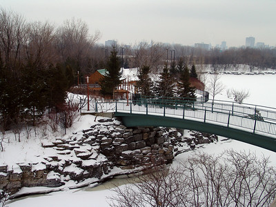 Lake Lac Leamy in Quebec