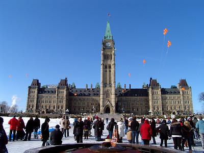 Parliament Building in Ottawa