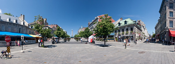 Old Montreal Panoramic