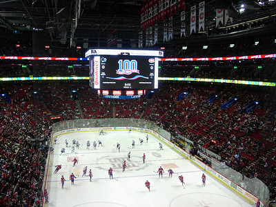 Bell Center- Home of the Montreal Canadians.  Awesome place to watch a game, the History of the Habs, hopefully the Sharks will have some Stanley Cup Banners soon. I highly recommend watching a game here if you are a hockey fan.