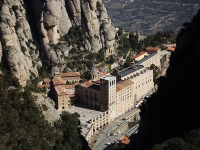 Montserrat, Spain - March, 2014