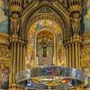 Altar of Basilica Santa Maria de Montserrat