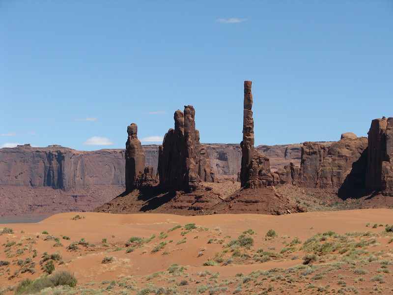 The 7 Totem Poles.