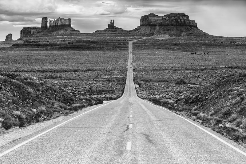 Monument Valley mile marker 13