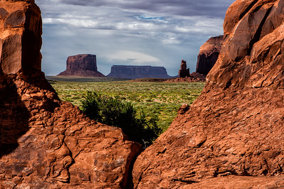 Monument Valley from Mystery view