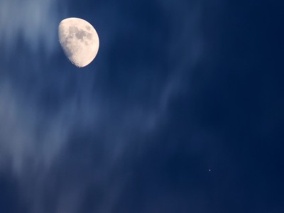 Moon over the High Plains