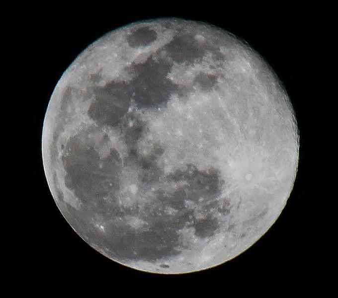 Super Snow Moon - February 19, 2019