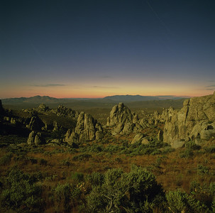 Lava Beds Moonlight