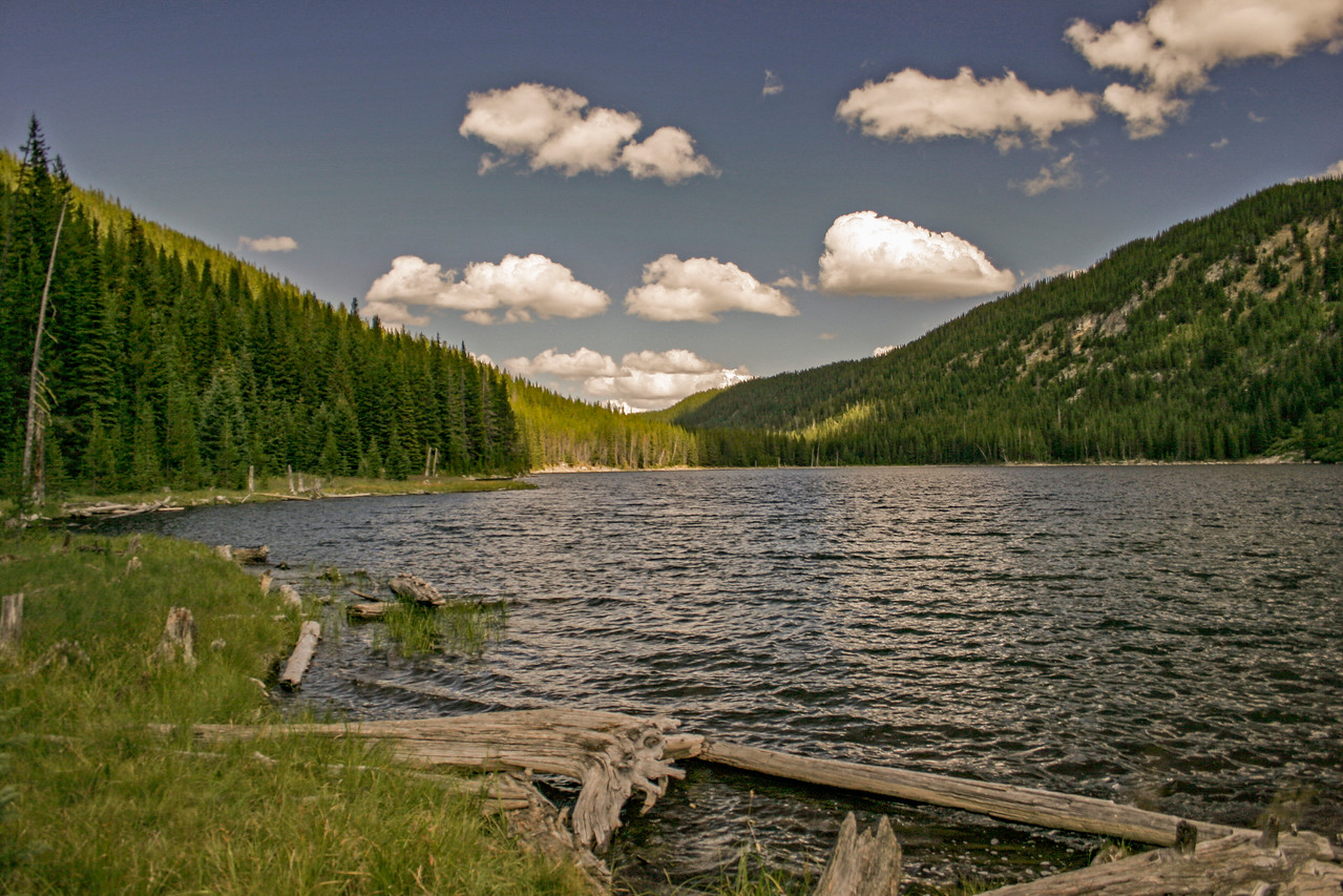 Moore's lake Idaho