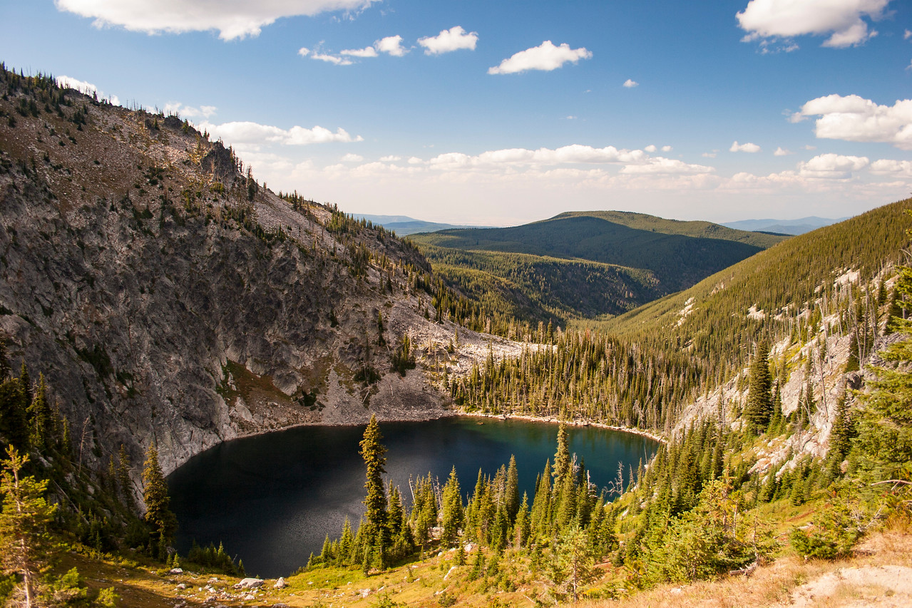 Idaho wilderness lake