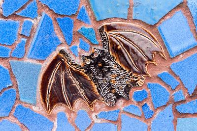 A creature of the air--a little bat.