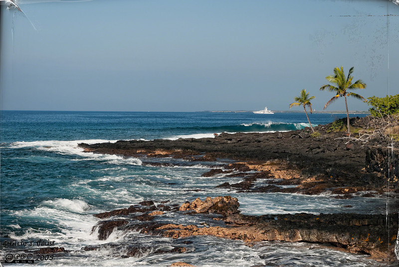 My favorite place to walk the shoreline in Kona