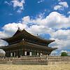Blue Skies, Gyeongbokgung Palace
