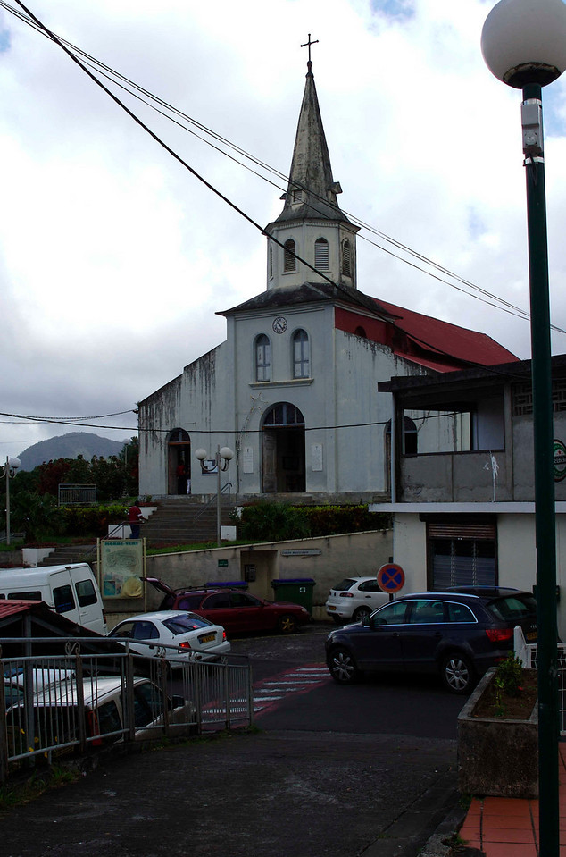 We believe this is the church shown on page 18 of Morne-Paysan Peasant Village in Martinique