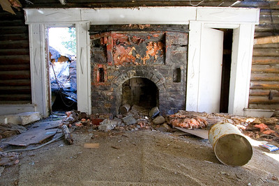 lovely fireplace
