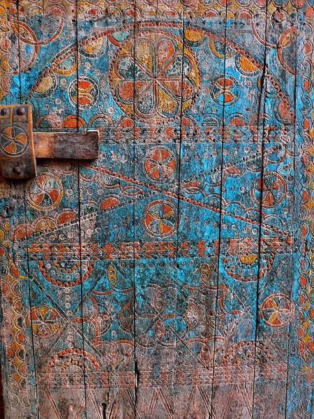 Detail of doorway