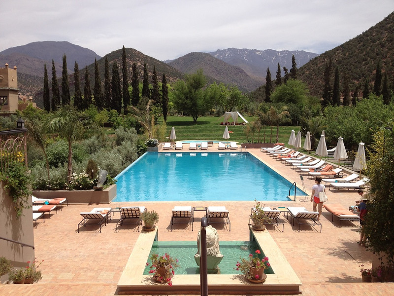 Kasbah Tamadot, Sir Richard Branson's retreat in the High Atlas Mountains.