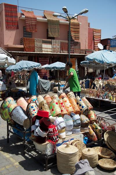 Marrakesh street scene.