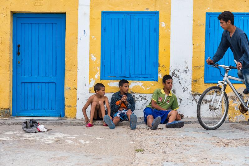 Boys in Essaouira