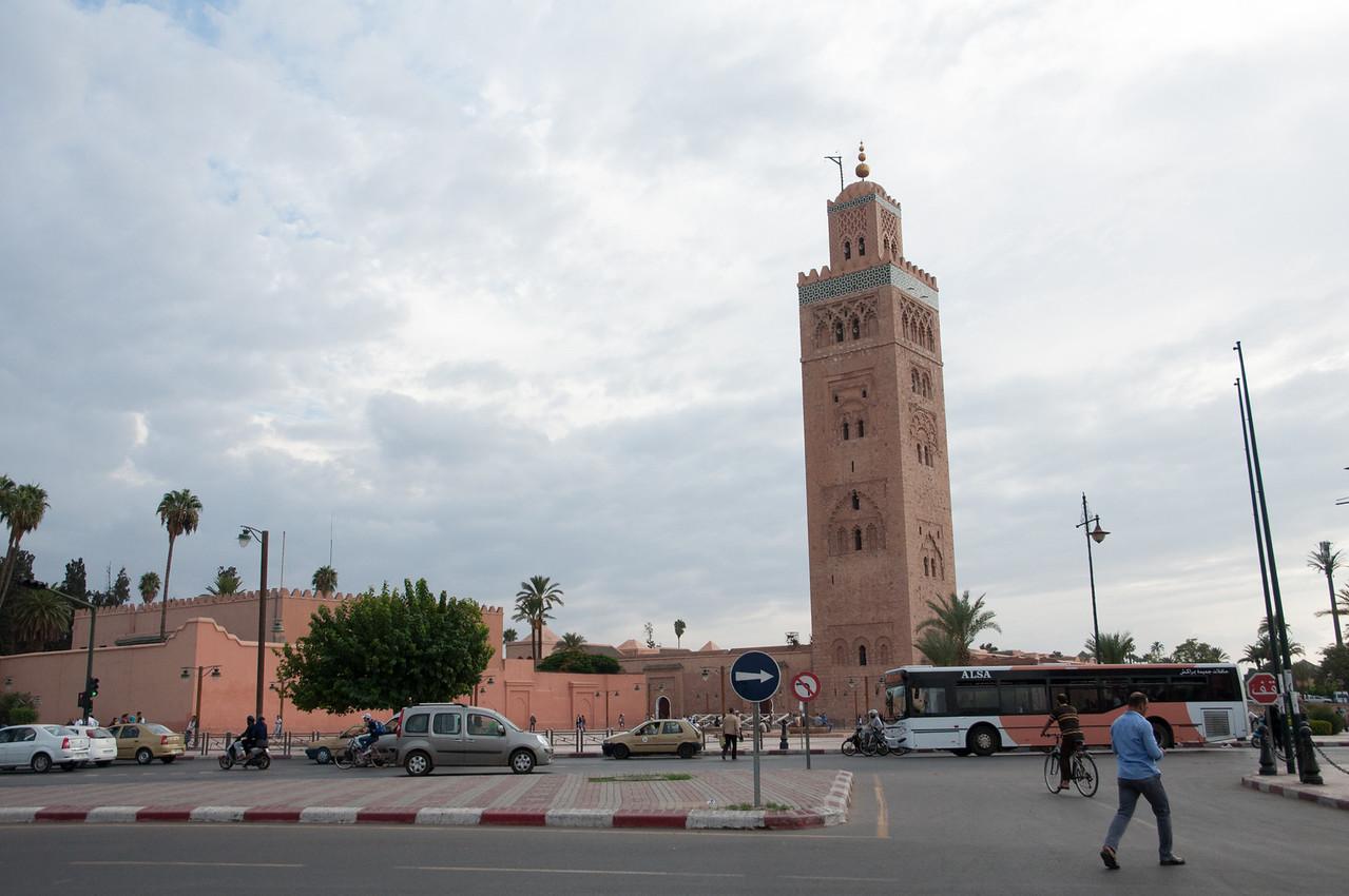 The Katoubia Mosque.